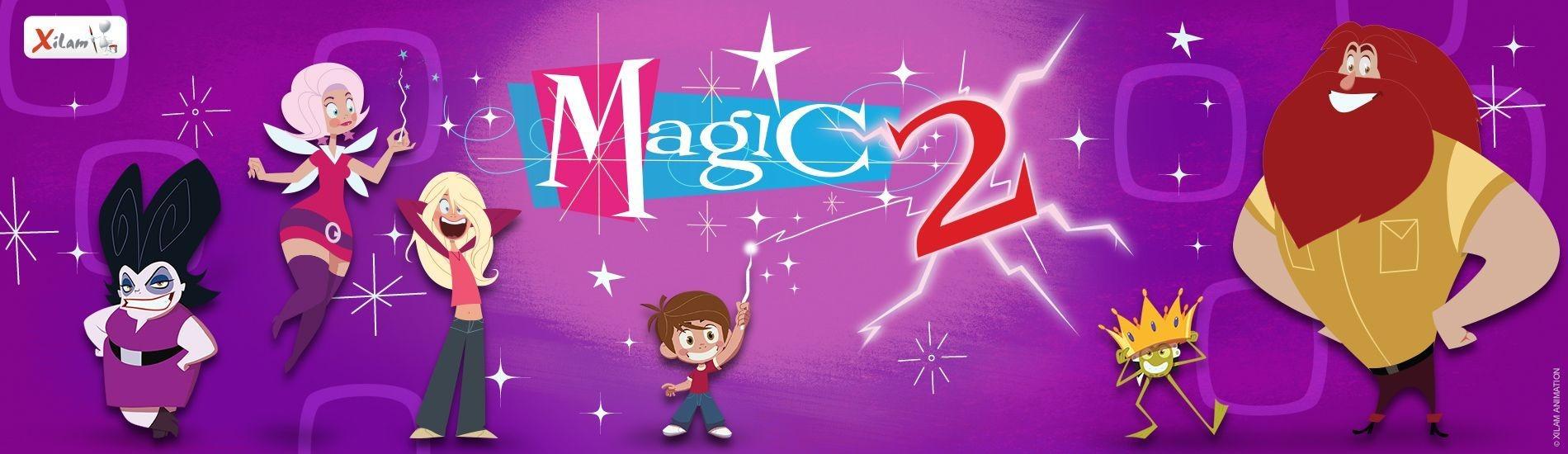 Coloriage Famille Magique.Magic