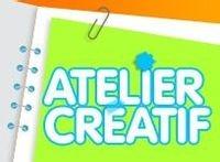 Crée, colorie, amuse-toi... avec l'Atelier Créatif