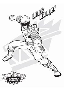 Coloriages power rangers dinocharge imprimer coloriages dessins animes - Coloriage power ranger dino super charge ...