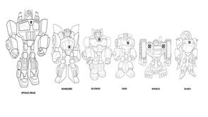 Coloriages Transformers