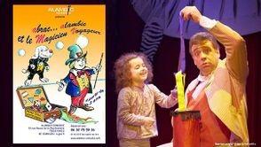 le magicien voyageur, tiji, enfants, spectacle, magie
