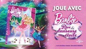 Jeu-concours Barbie rêve de danseuse étoile