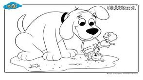 Coloriages Clifford