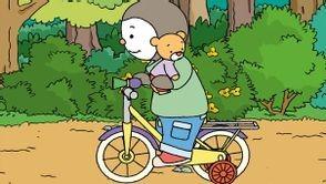 t'choupi et doudou font du vélo