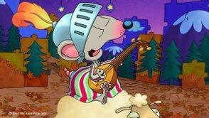 Toupie chevalier joue la serenade
