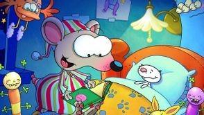 Toupie lit un livre pour endormir Binou