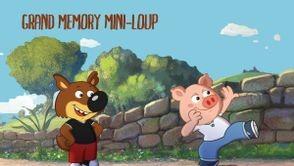 Grand Memory Mini Loup
