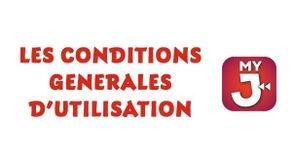 Les conditions générales d'utilisation