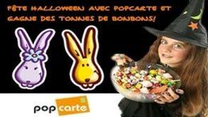 Joue avec Popcarte pour Halloween !