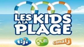 LES KIDS A LA PLAGE