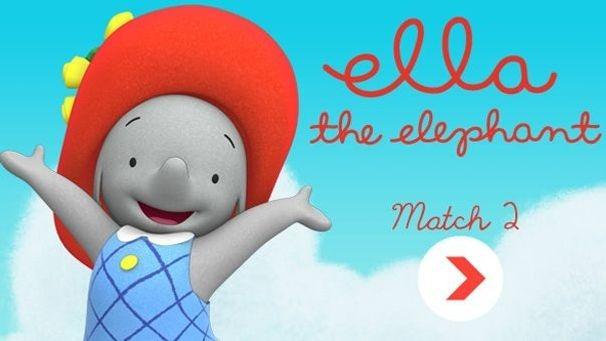 Le jeu des paires Ella l'éléphant