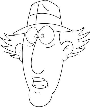Coloriage inspecteur gadget 30 coloriage inspecteur gadget coloriages dessins animes - Inspecteur gadget dessin anime ...
