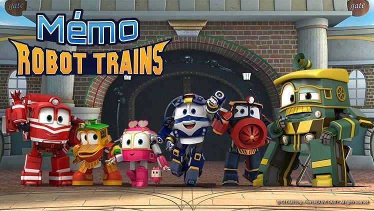 Robot Trains Dessins Animes Mes Heros Gulli