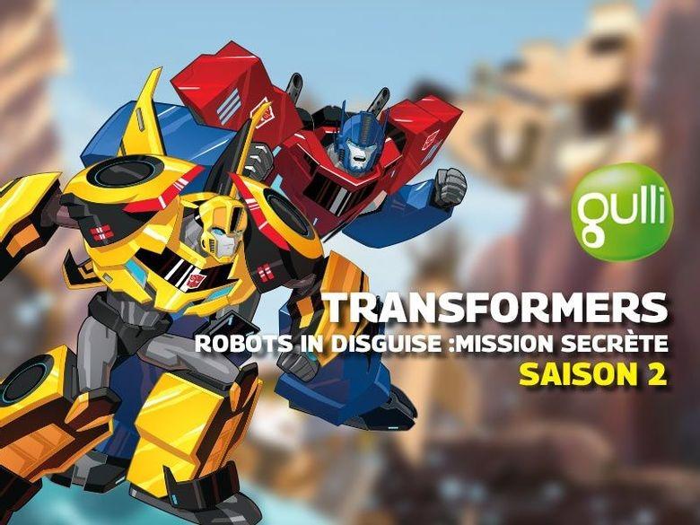 Revoir transformers robots in disguise : mission secrete en replay