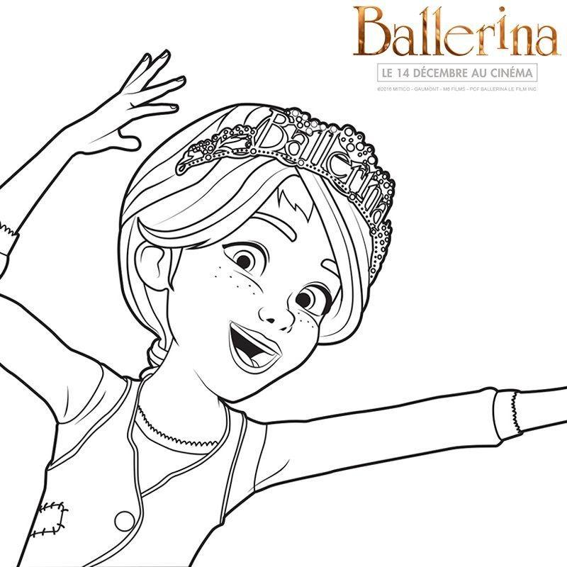 Coloriage Dessin Anime Ballerina.Coloriages Ballerina Cine Dvd Fil Infos Actu Gulli