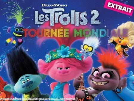 Les Trolls 2 : Tournée mondiale - Extraits du film